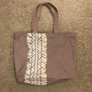 Marc Jacobs Large Canvas Zippered Tote